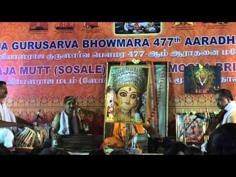 Marulu Maadi by Mysore Ramachandrachar on the occasion of vyasarajaru aaradhana on 27/3/2016  at sr