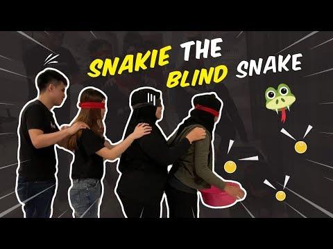[Mini Team Building Activities - Snakie The Blind Snake (Episode 14)]