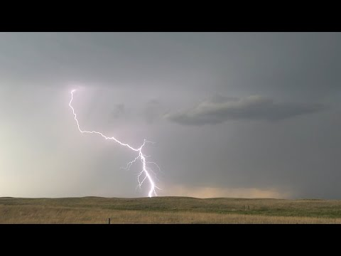 June 23, 2021 North Central Nebraska LIVE Supercell and LIGHTNING!