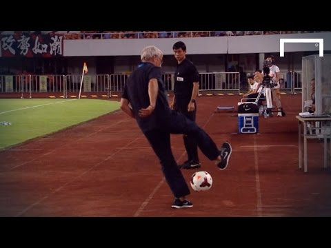 Silky skills from Marcello Lippi