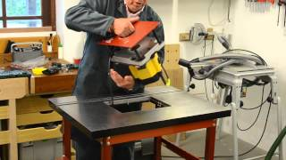 Ujk Technology Professional Router Table Assembly - Part 2