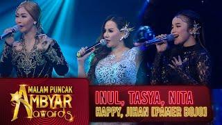 Download lagu Bertabur Bintang! Inul, Tasya, Nita, Happy dan Jihan Audy [PAMER BOJO] - Ambyar Awards 2020 (28/8)