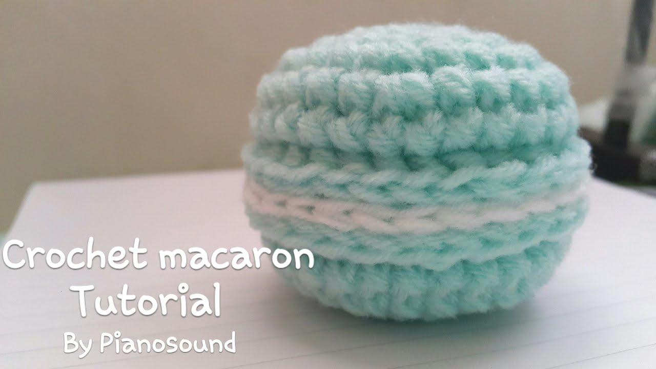 Amigurumi Crochet Macaron Tutorial by pianosound - YouTube