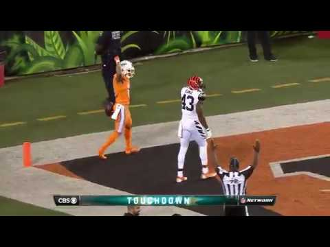 Ryan Tannehill Tosses a 74-Yard Bomb to Kenny Stills for the TD! | Dolphins vs. Bengals | NFL
