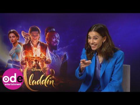ALADDIN: Naomi Scott always used to be Abu the monkey