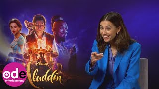 ALADDIN: Naomi Scott talks about playing Princess Jasmine