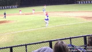 Caleb Freeman vs Eastside (scrimmage 2018 preseason)