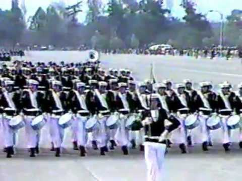 Parada Militar 1989 Chile:Armada de Chile,Chilenische Marine