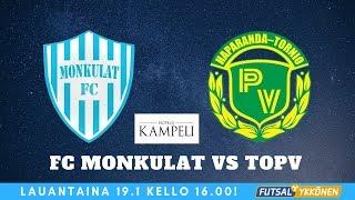 FC Monkulat vs ToPV 19.1.2019 maalikooste