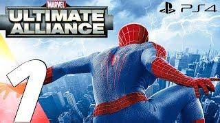 Marvel Ultimate Alliance (PS4) - Gameplay Walkthrough Part 1 - Prologue