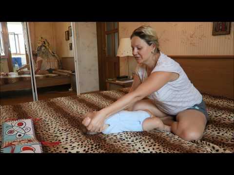 Учимся Сидеть, Переворачиваться и Ползать. Не сложные упражнения для  ребёнка с 3 месяцев.