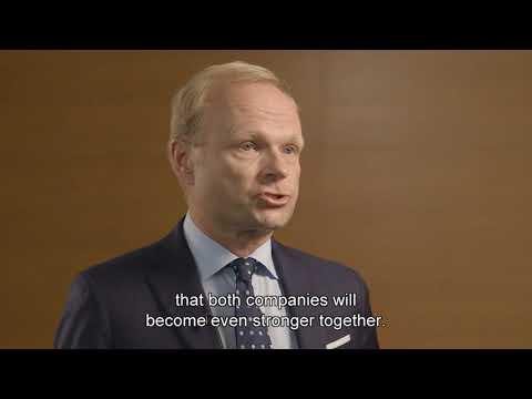 Fortum CEO Pekka Lundmark explains agreement regarding E.ON's stake in Uniper