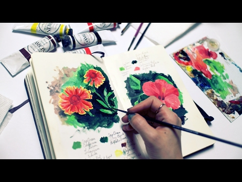 How to Get Ideas for Art | Sketchbook Sunday #24