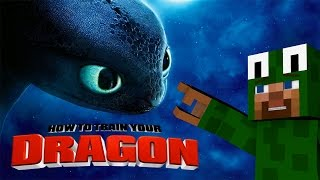 Minecraft - HOW TO TRAIN YOUR DRAGON - We lost Toothless! [28]