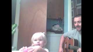 The Poo Poo Song (potty training) - Acoustic Guitar