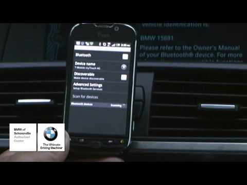 Pairing your Bluetooth Phone in your BMW!