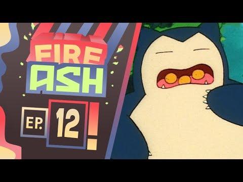 Pokemon Fire Ash Part 12 SNORLAX ATE EVERYTHING! ( Pokemon Fan Game ) Gameplay Walkthrough