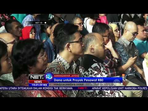 Putra Jokowi, Gibran Ikut Penggalangan Dana Untuk Proyek Pesawat R80