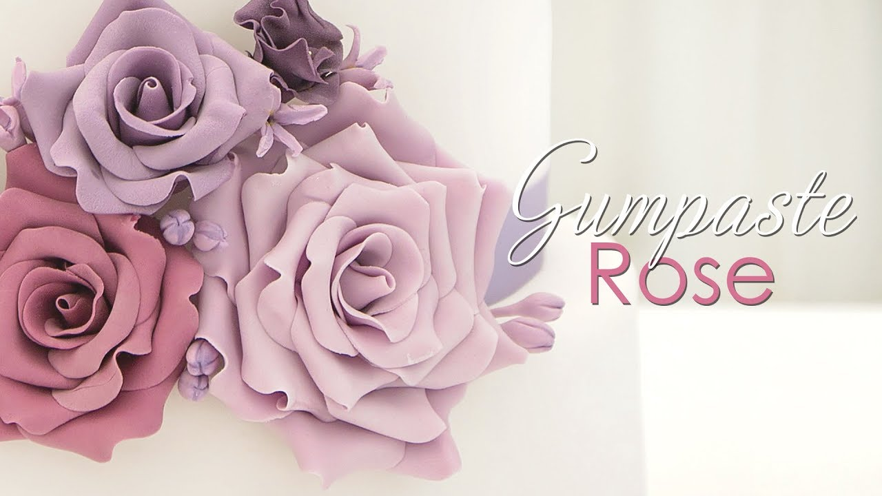 rose petal wedding cake tutorial gumpaste tutorial 19303