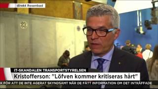 """Säpochefen: """"Har varnat för detta i fem år"""" - Nyheterna (TV4)"""