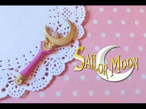 Sailor Moon ''Moon stick'' resin tutorial
