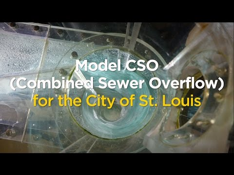 University Model CSO (Combined Sewer Overflow) for the City of St. Louis on YouTube