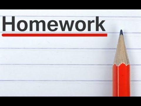 homework info