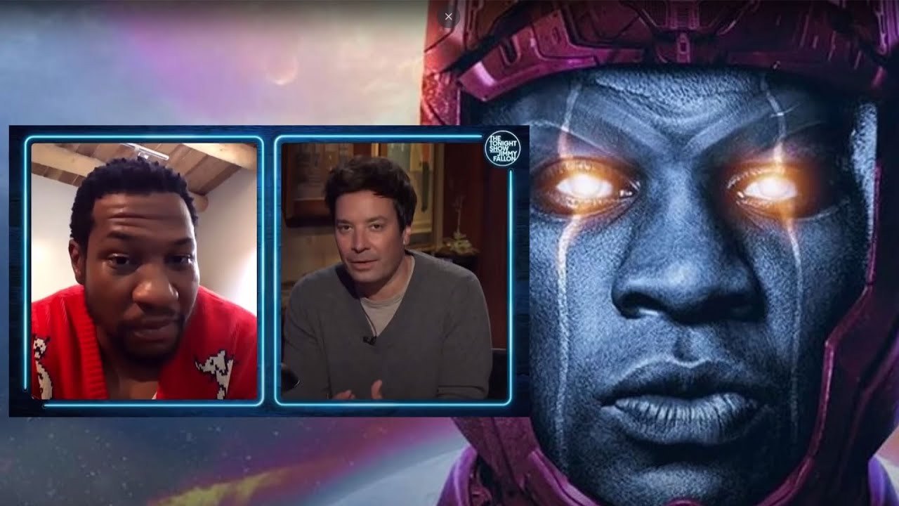 Jonathan Majors Answers IF He's Kang the Conqueror in Ant-man 3 - YouTube