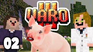 Minecraft VARO 3 |  #02 | Schweine-Sirenen!