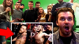 McGregor Fan REACTS to Conor vs Khabib (FREAKOUT)