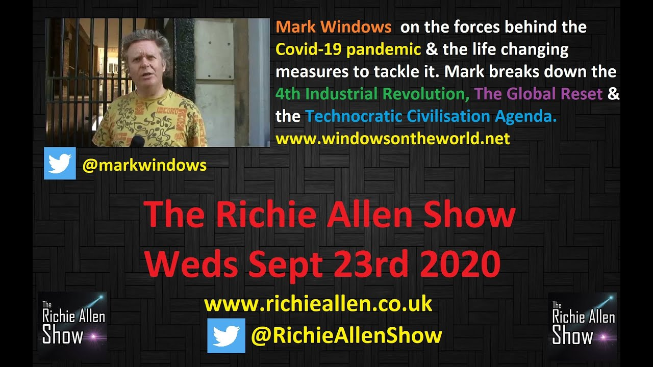 The Richie Allen Show Wednesday September 23rd 2020