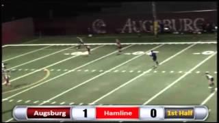 Augsburg Women's Soccer Highlights - Hamline