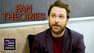 Charlie Day Reacts to It's Always Sunny in Philadelphia Fan Theories