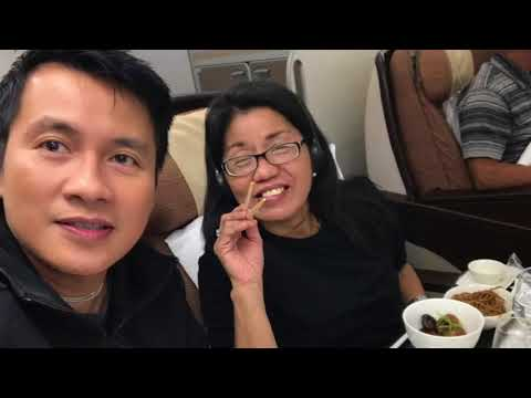 Philippine Airlines A340 Business Class LAX to MNL