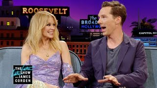 Kylie Minogue & Benedict Cumberbatch Aren't Strangers to Drag