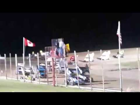 NOSA Devils Lake Speedway Feature 06 03 2017