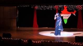ISA University of Utah India Night 2013 Indian Song Solo I