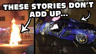 Suspicious Exotic Car Accidents That Don'T Make Sense...