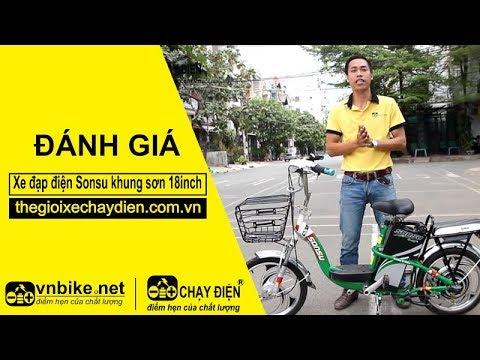 Đánh giá xe đạp điện Sonsu khung sơn 18inch