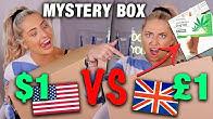 *i got a drug test ?! * trying a DOLLAR STORE vs POUNDLAND mystery box?!
