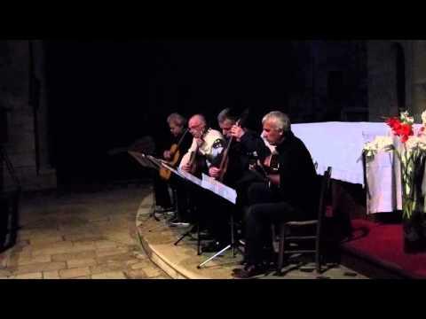 Souillac 2015-Vivaldi Allegro du concerto RV 93 Pierre Louis, Dominique, Serge et Jean Pierre
