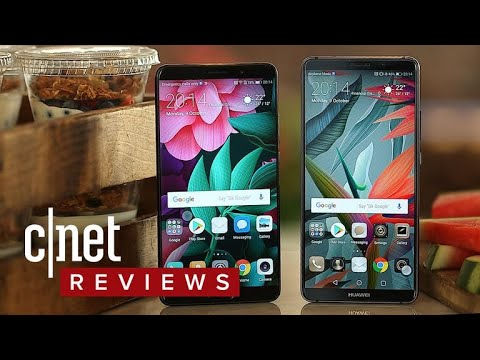 Huawei Mate 10 and Mate 10 Pro phones (first-look)