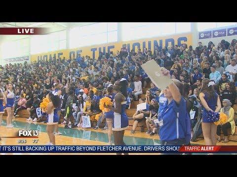FOX 13 Pep Rally: Auburndale High School
