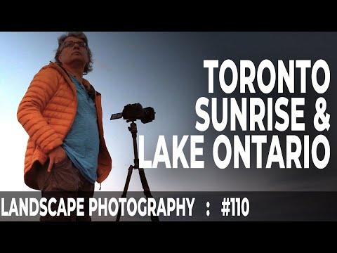 Landscape Photography In Toronto: Sunrise & Lake Ontario (Ep #110)