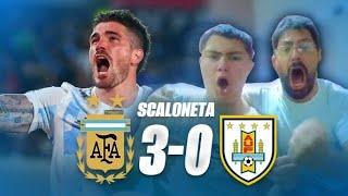 REACCIÓN DE ARGENTINOS   ARGENTINA vs. URUGUAY   Eliminatorias Sudamericanas   Joaco