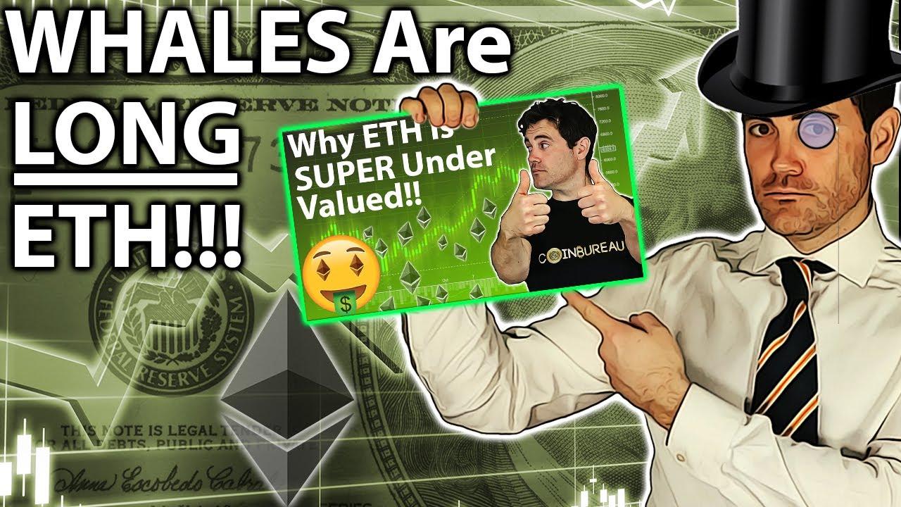 Whale ETH BUYING: Smart Money LONG ETHEREUM!! ?