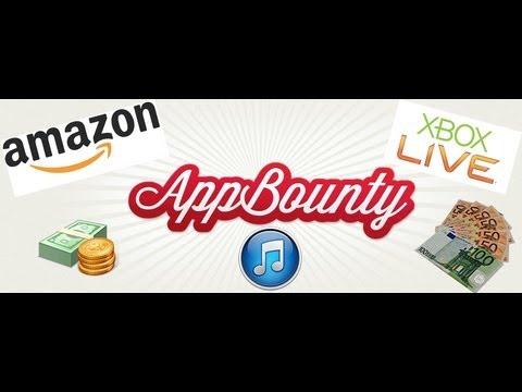 appbounty kostenlos diamanten itunes karten amazon gutscheine und xbox live bekommen youtube. Black Bedroom Furniture Sets. Home Design Ideas