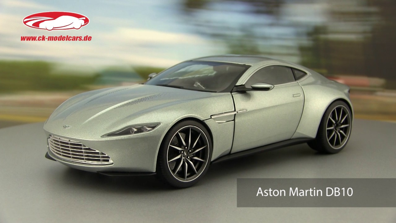 Ck Modelcars Video Aston Martin Db10 James Bond Spectre 2015 Silber