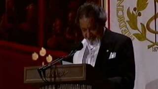 Nobel Banquet speech, V.S. Naipaul 2001