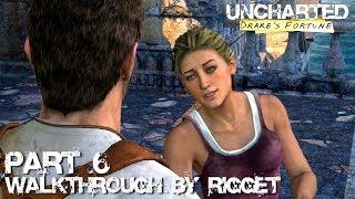 "Uncharted Drake's Fortune HD Прохождение Часть 6 ""Таможня"""